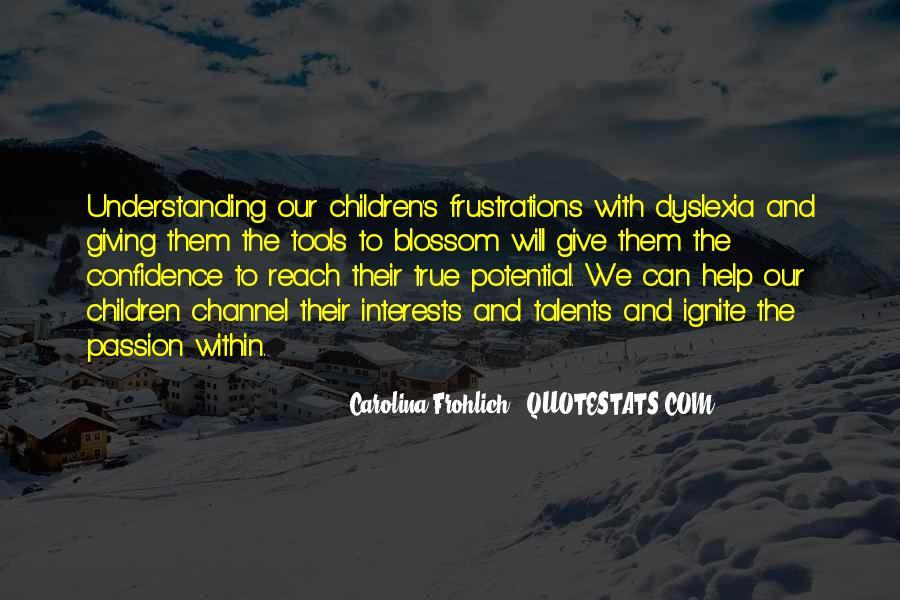 Children's Talents Quotes #1723466