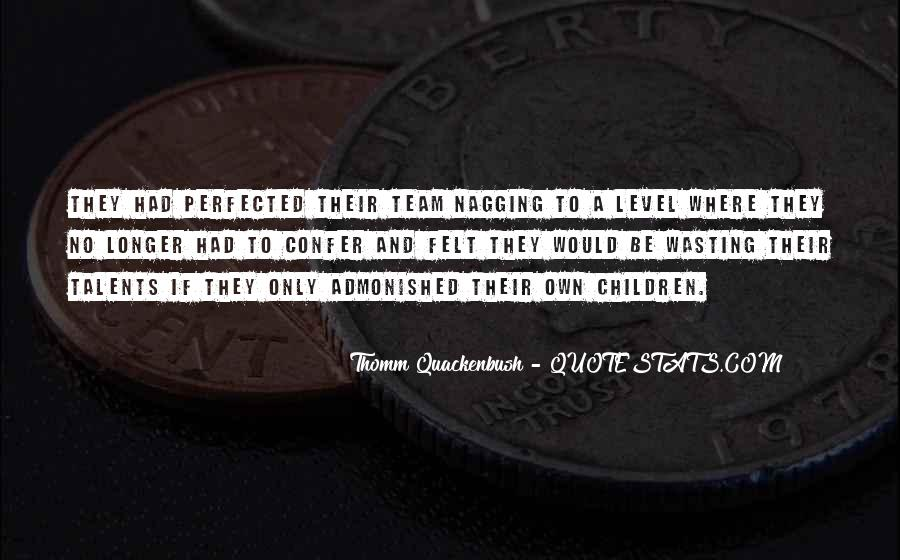 Children's Talents Quotes #1821449
