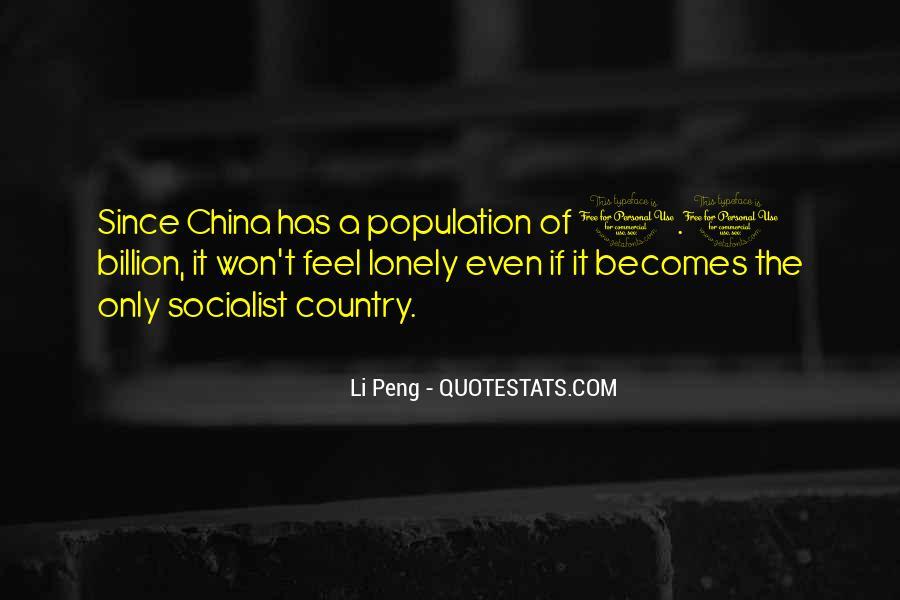 China Population Quotes #1365303