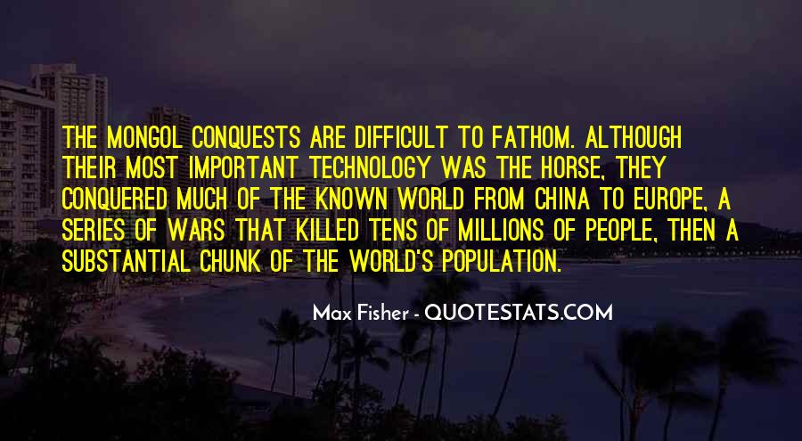 China Population Quotes #1796601