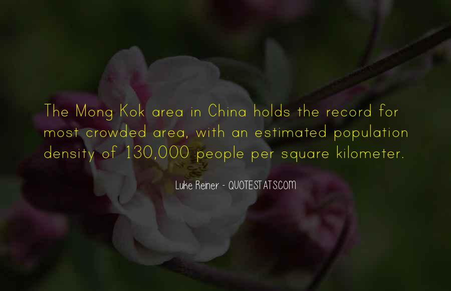 China Population Quotes #267181