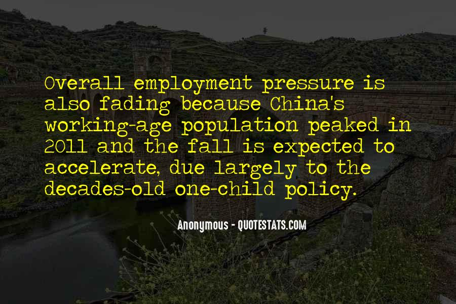China Population Quotes #63265