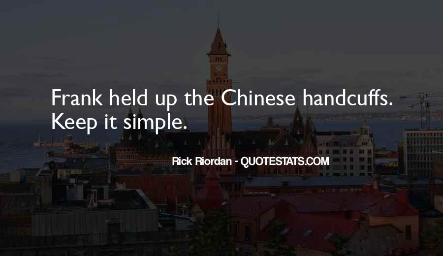 Chinese Handcuffs Quotes #51959