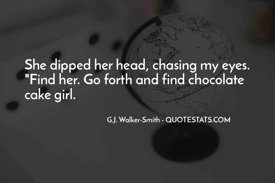 Chocolate And Girl Quotes #1325027