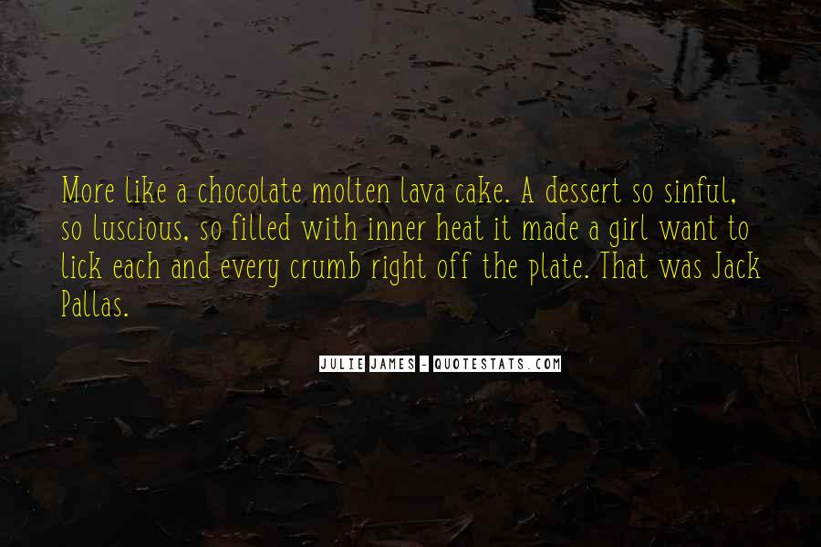 Chocolate And Girl Quotes #1668096