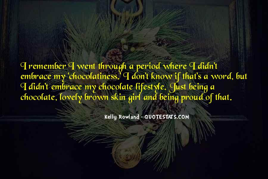 Chocolate And Girl Quotes #1731920