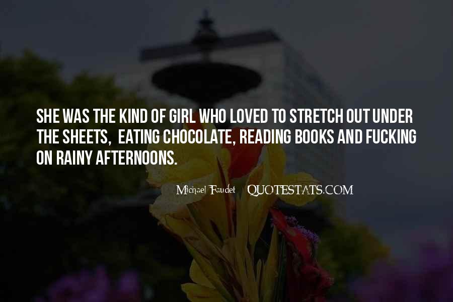 Chocolate And Girl Quotes #330383