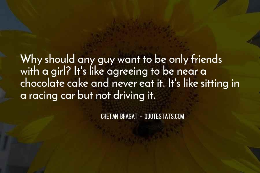 Chocolate And Girl Quotes #341543