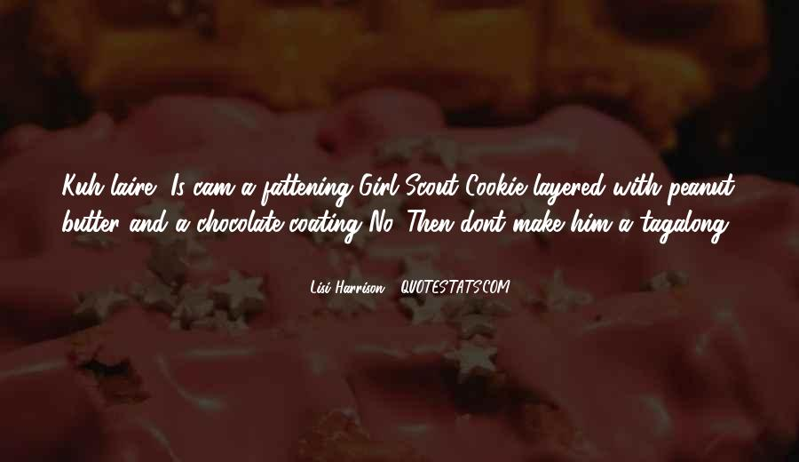 Chocolate And Girl Quotes #747125