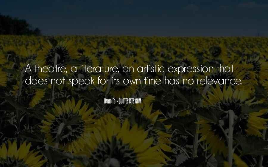 Quotes About The Relevance Of Literature #632689