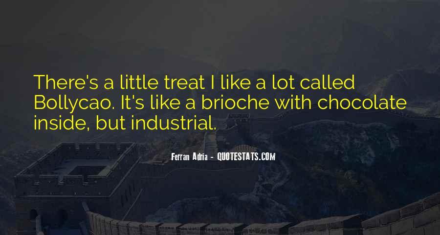 Chocolate Treats Quotes #1566029