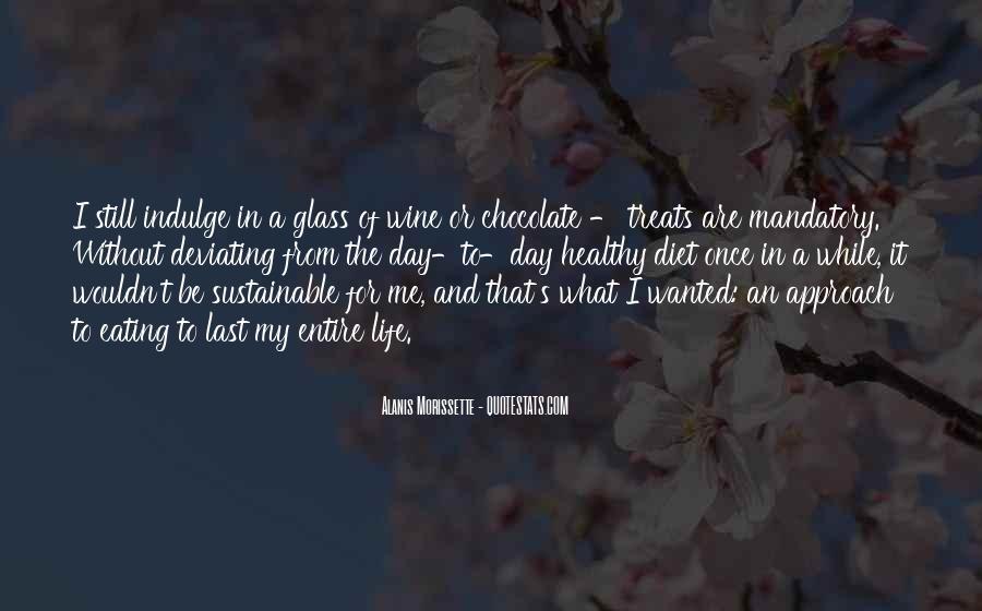 Chocolate Treats Quotes #616780