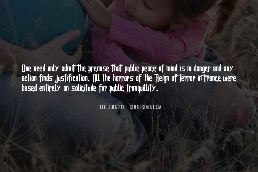 Quotes About The Reign Of Terror #1167098