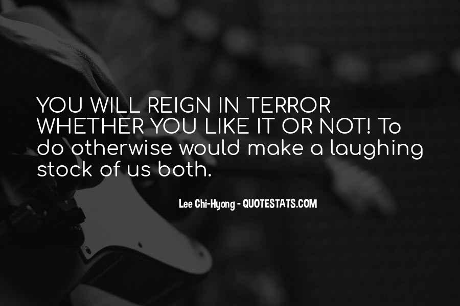 Quotes About The Reign Of Terror #1494640