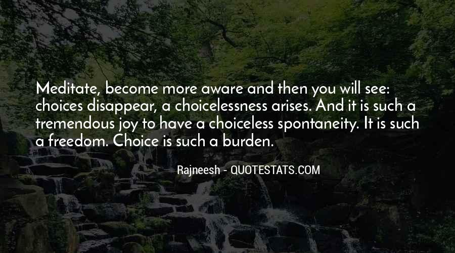 Choiceless Quotes #873960