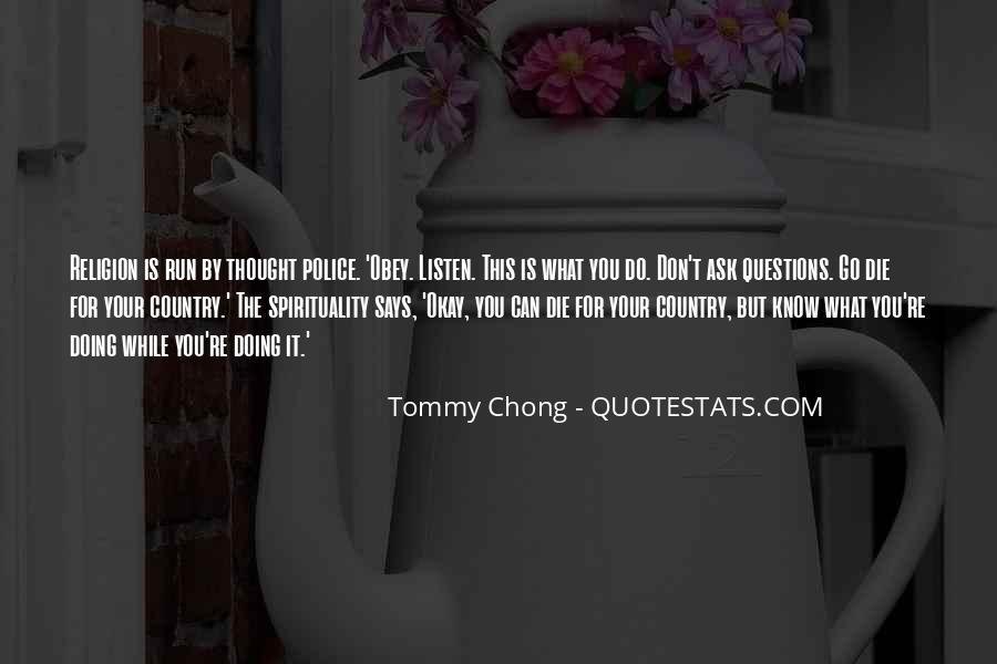 Chong Quotes #225347
