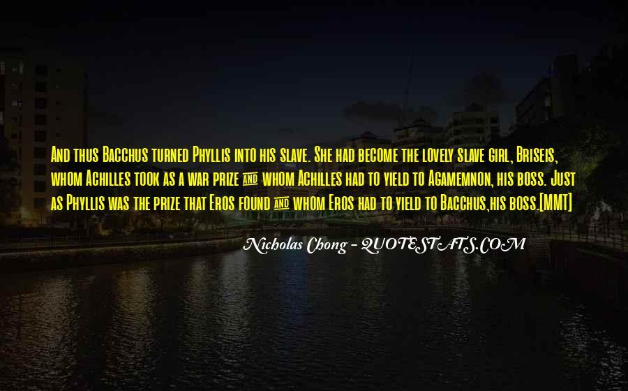 Chong Quotes #397710