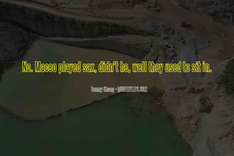Chong Quotes #563848