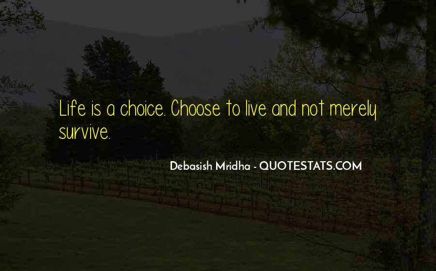 Choose Her Over Me Quotes #18926