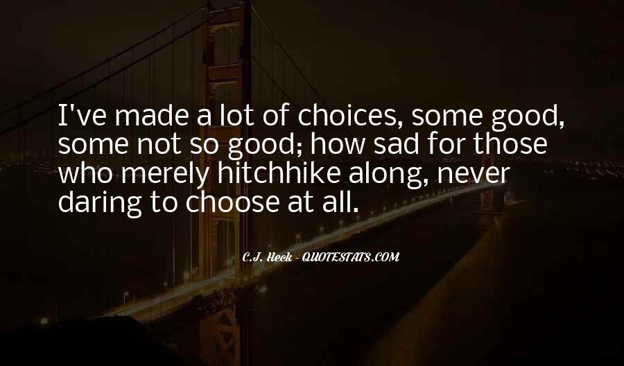 Choose Her Over Me Quotes #20643
