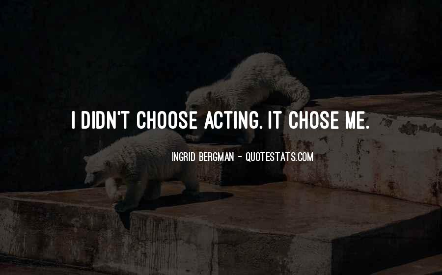 Choose Her Over Me Quotes #21411
