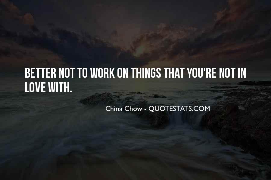 Chow Chow Quotes #811682