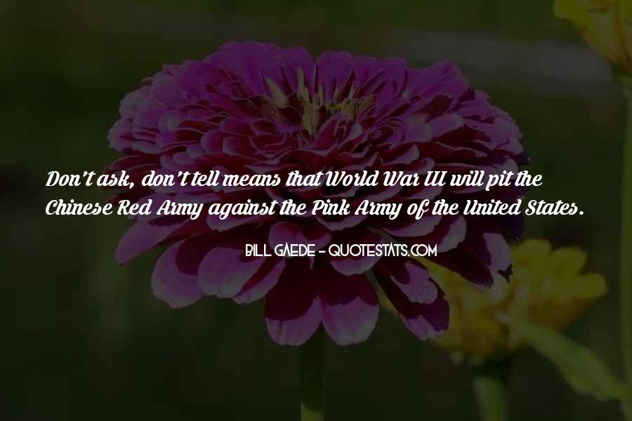 Quotes About The Red Army #1002497