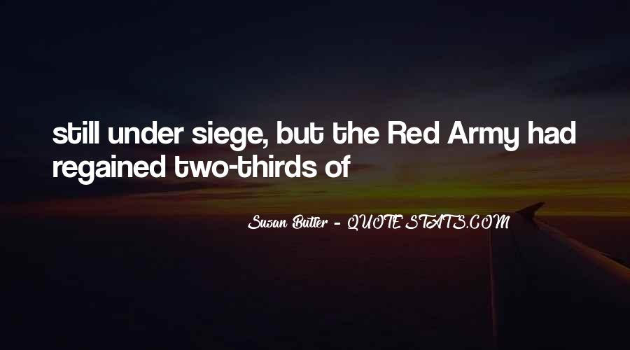 Quotes About The Red Army #1140657