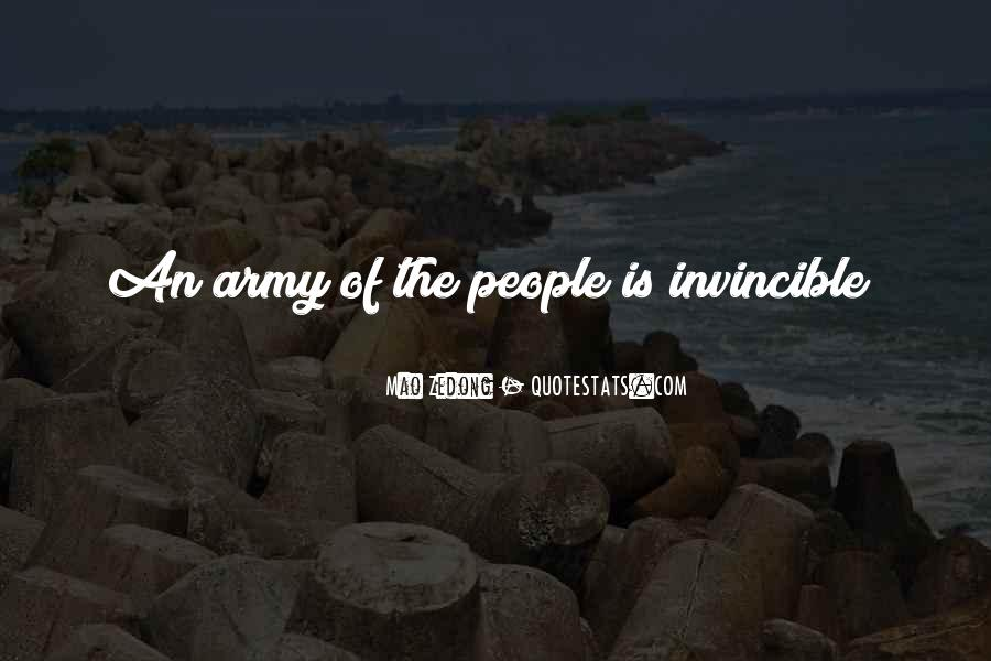 Quotes About The Red Army #1201419