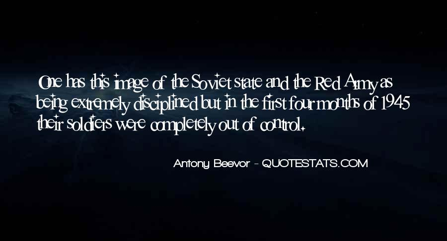 Quotes About The Red Army #1502907