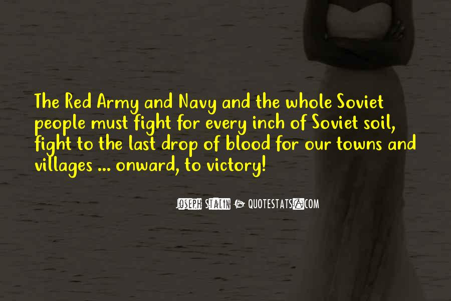 Quotes About The Red Army #155900