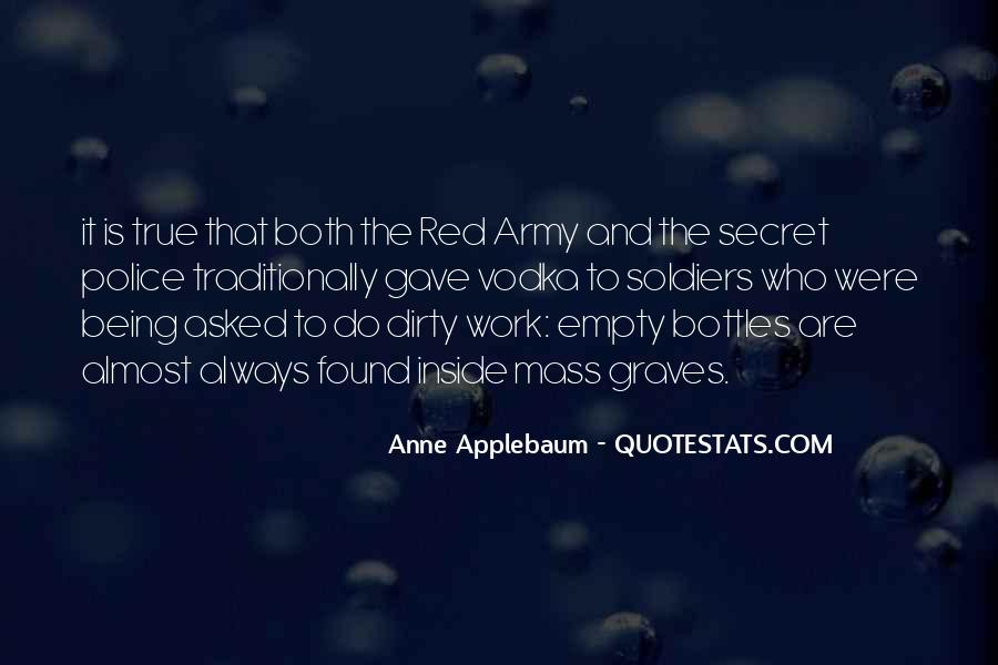 Quotes About The Red Army #1563291