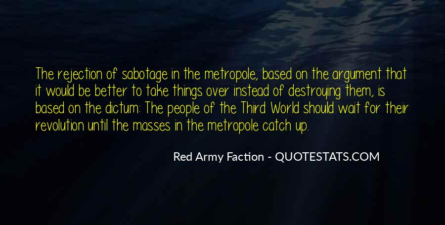 Quotes About The Red Army #338692