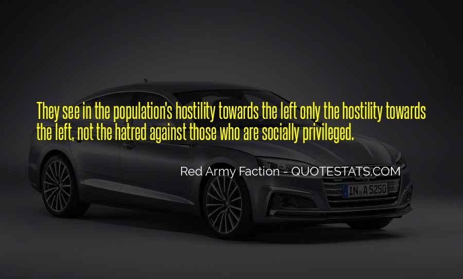 Quotes About The Red Army #596498