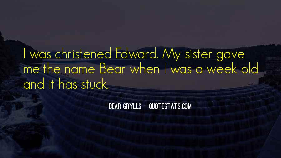Christened Quotes #1060978