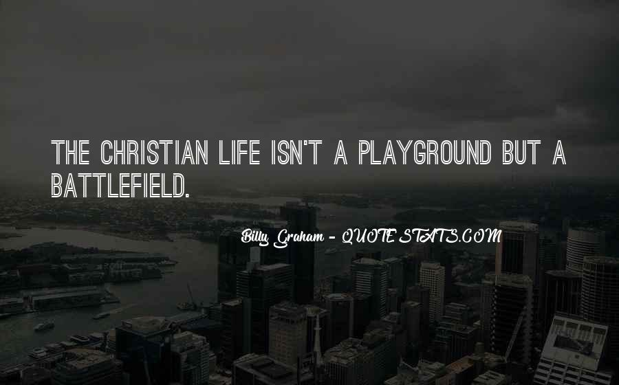 Christian Battlefield Quotes #209834