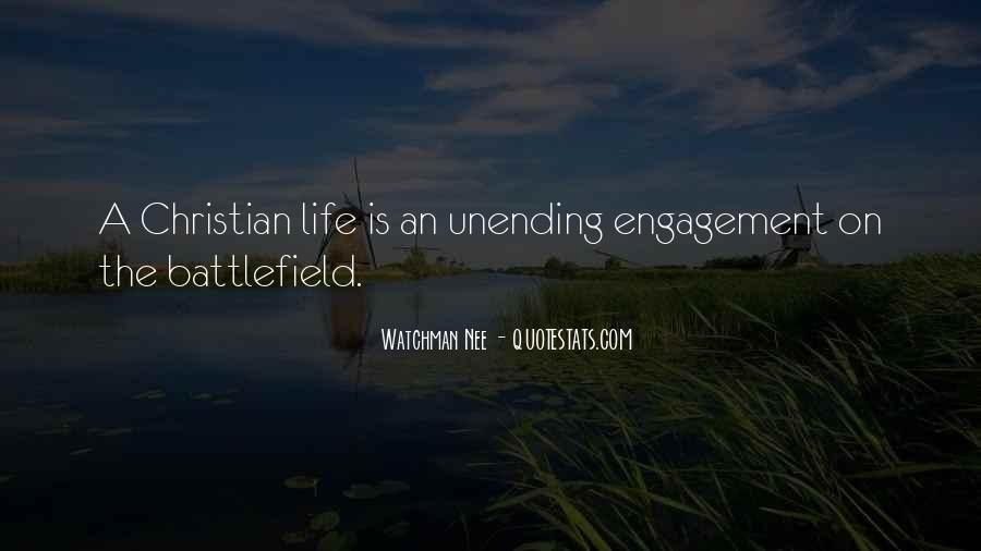 Christian Battlefield Quotes #699902