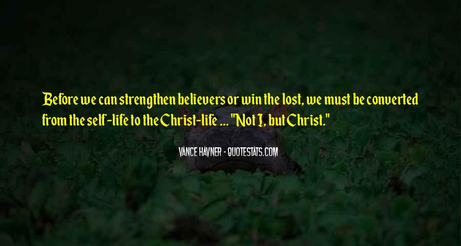 Christian Believers Quotes #1214024
