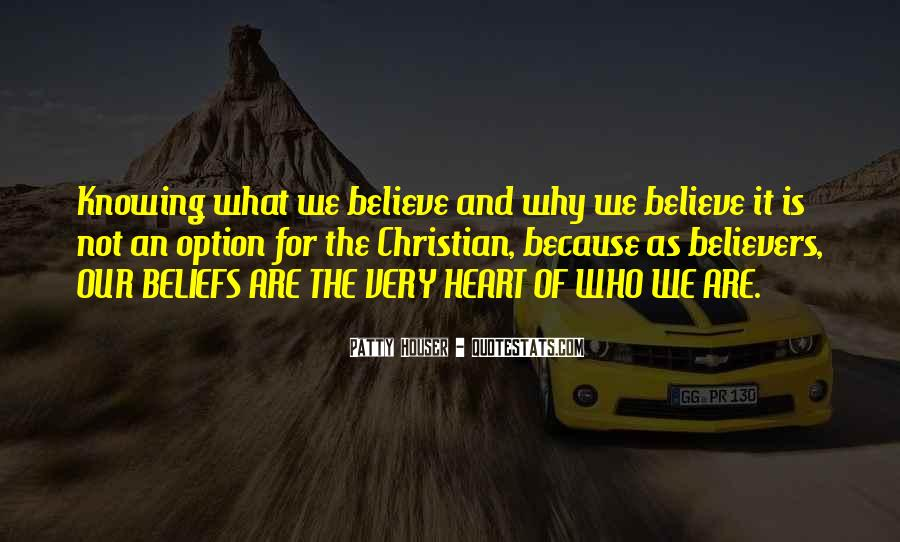 Christian Believers Quotes #1409572