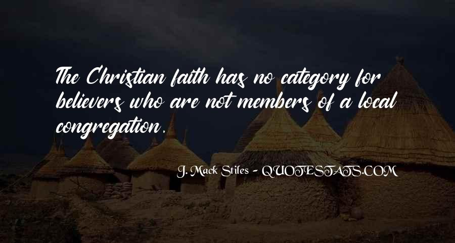 Christian Believers Quotes #1504535