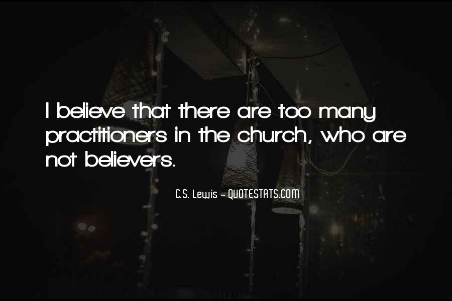 Christian Believers Quotes #516227