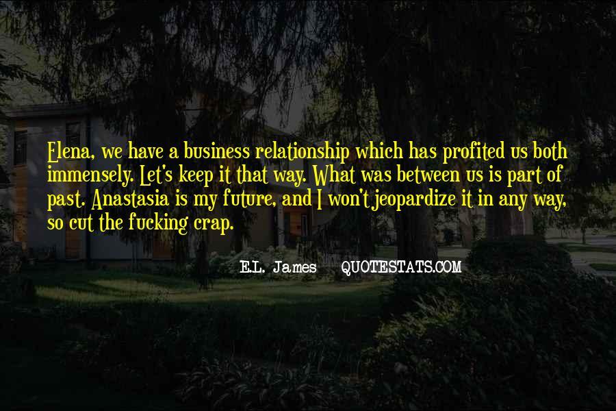 Christian Grey Business Quotes #757607