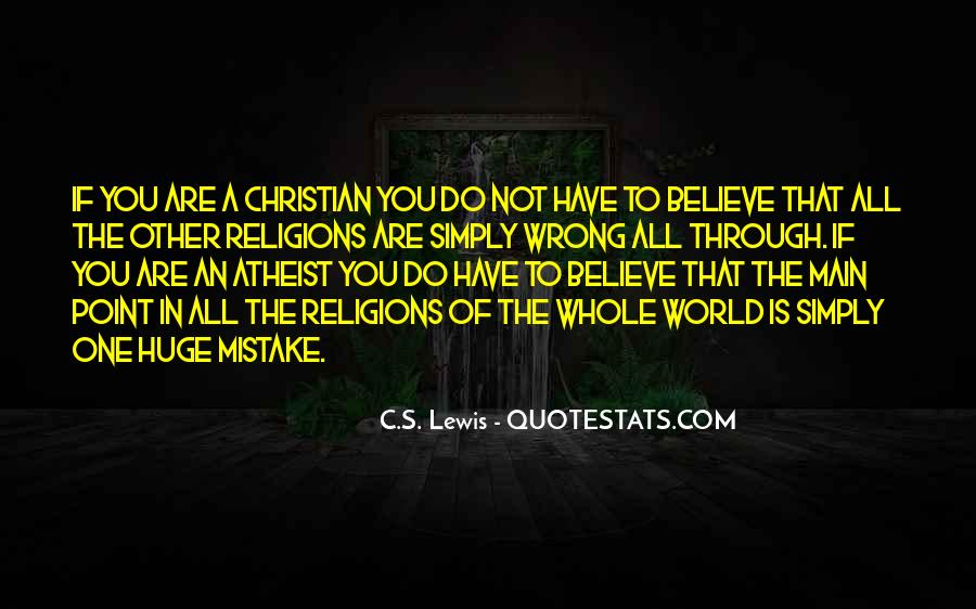 Christian Religions Quotes #1360503