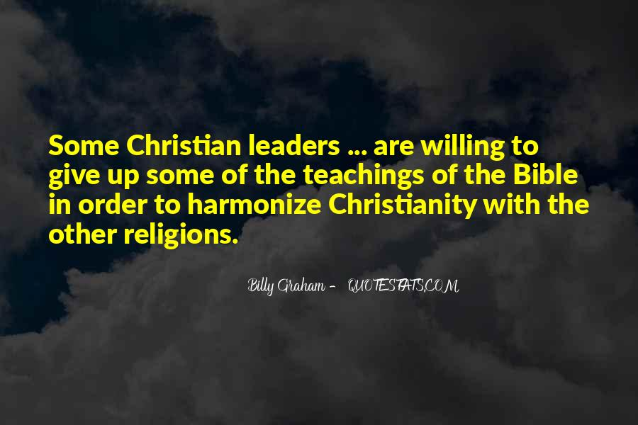 Christian Religions Quotes #1742393