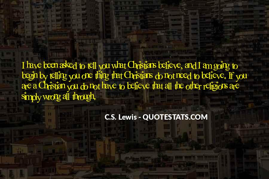 Christian Religions Quotes #752885
