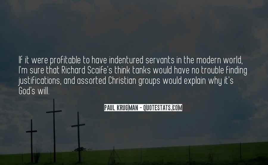 Christian Servants Quotes #1612209