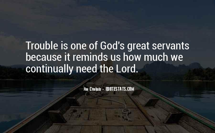 Christian Servants Quotes #1714855