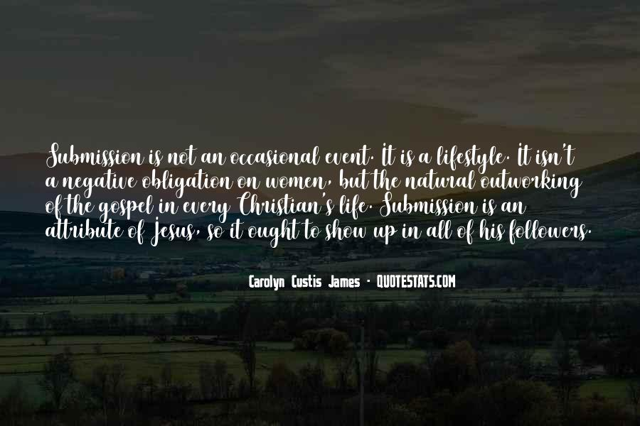 Christian Submission Quotes #117951