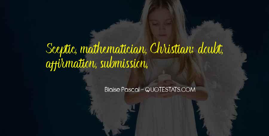 Christian Submission Quotes #1292428