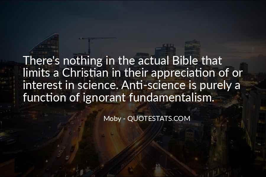 Christian Vs Science Quotes #176091